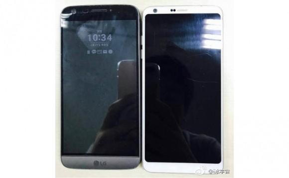 LG G6 сравнили с LG G5 на фото