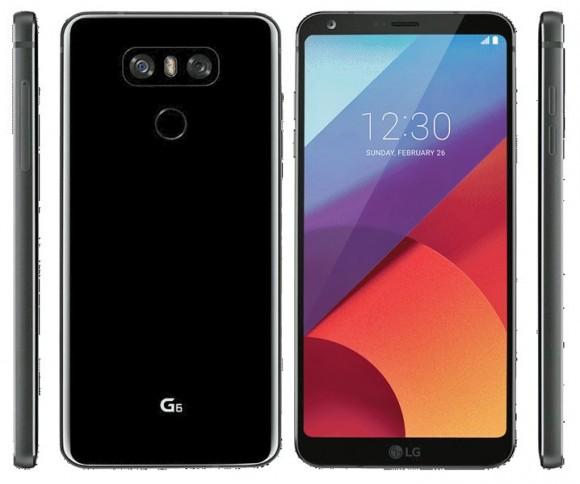 LG G6 показался на пресс-рендере