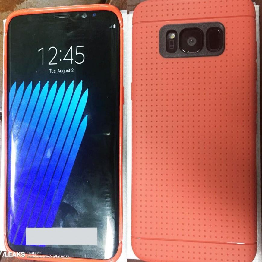 Samsung Galaxy S8 показался на новом фото