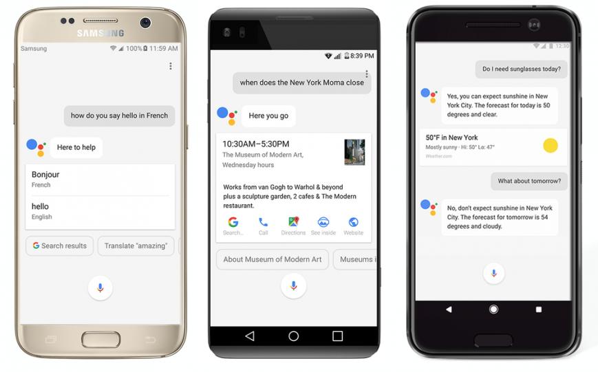 MWC 2017: Google выпускает голосовой помощник Assistant для всех Android-смартфонов