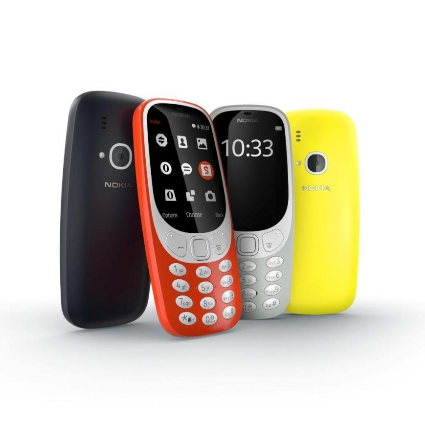 MWC 2017: Переизданный  Nokia 3310 представлен официально