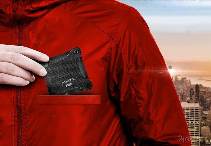 ADATA SD600 — карманный SSD с памятью 3D TLC NAND (7 фото)