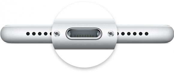Lightning у iPhone 7