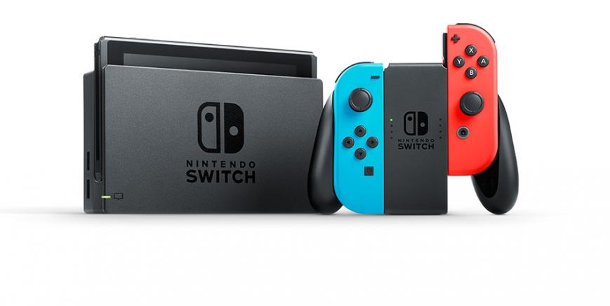Гибридная игровая приставка Nintendo Switch вышла в продажу