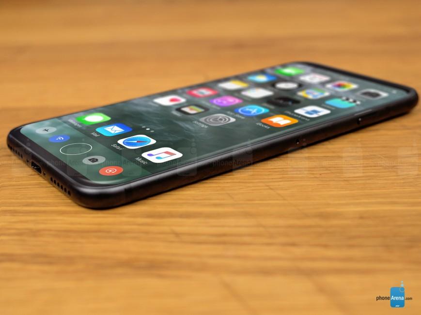 В сети появились новые концептуальные изображения iPhone 8