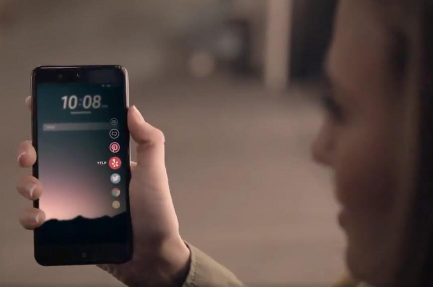 Смартфон HTC U Ocean получит сенсорную рамку
