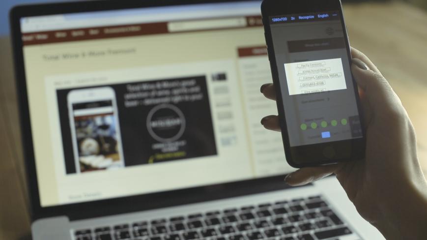 ABBYY научит смартфоны распознавать текст с предметов в реальном времени