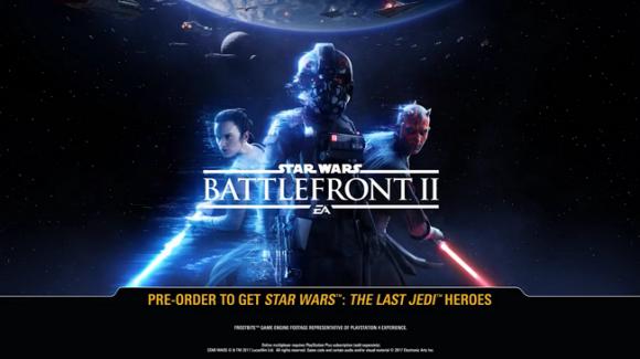 В сеть утек трейлер Star Wars: Battlefront II