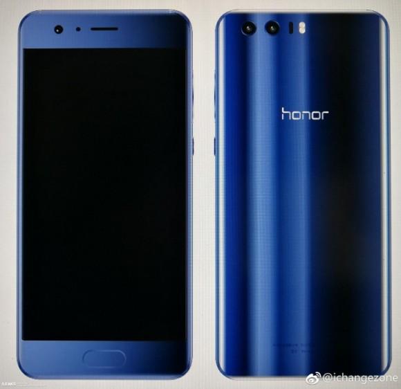 В сети появился новый рендер Huawei Honor 9