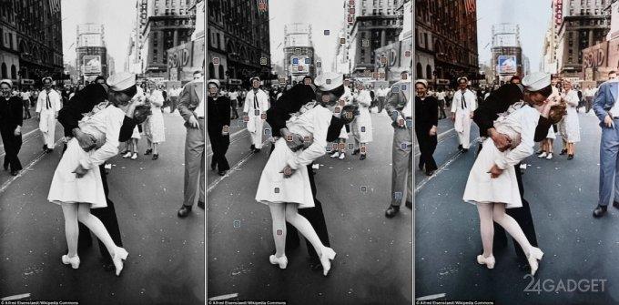 Нейросеть раскрашивает черно-белые снимки за считанные минуты (4 фото + видео)