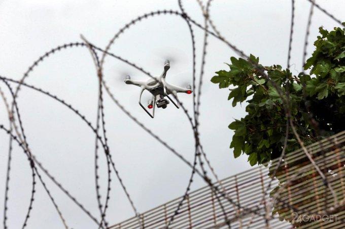 Британские тюрьмы обнесут воздушным барьером (видео)