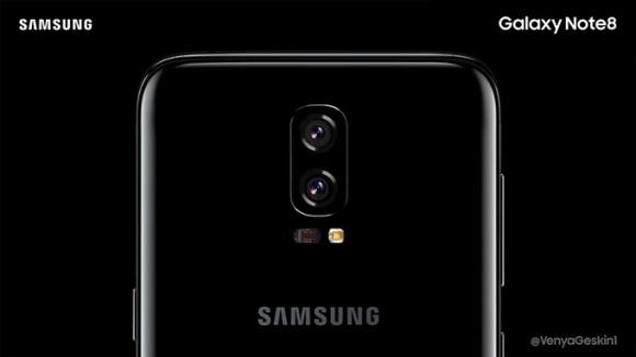 Концепт Samsung Galaxy Note 8