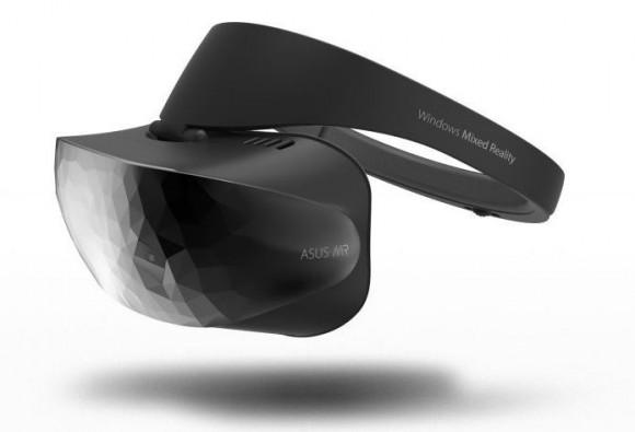 Microsoft показала шлемы Windows Mixed Reality от ASUS, Dell и Lenovo
