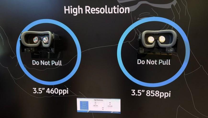 Samsung создала дисплей для VR-шлемов с повышенной в 3,5 раза четкостью