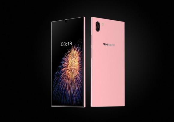 Sharp может показать свои безрамочные смартфоны FS8010 и FS8016 уже 17 июля