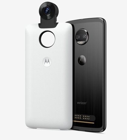 Камера-панелька Moto 360 Camera позволяет снимать сферическое видео