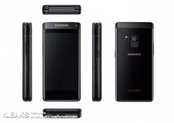 Флагманская раскладушка от Samsung показалась на рендере