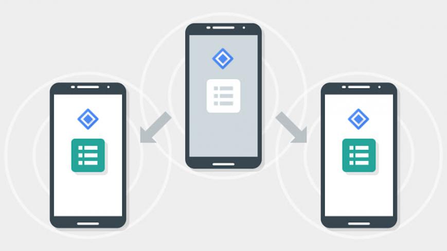 Google представила Nearby 2.0 для связи устройств между собой