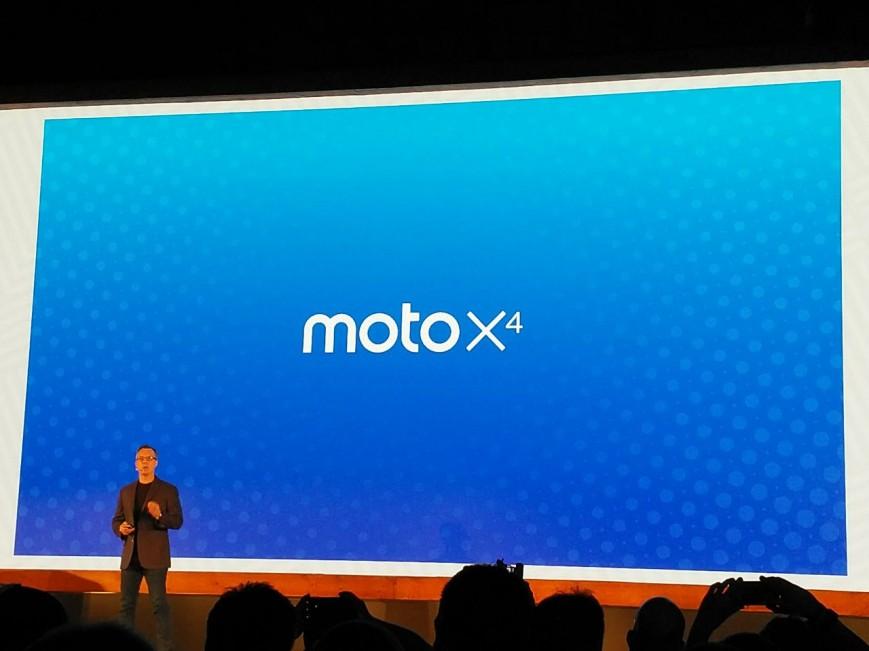 Moto X4 с двойной камерой представлен официально