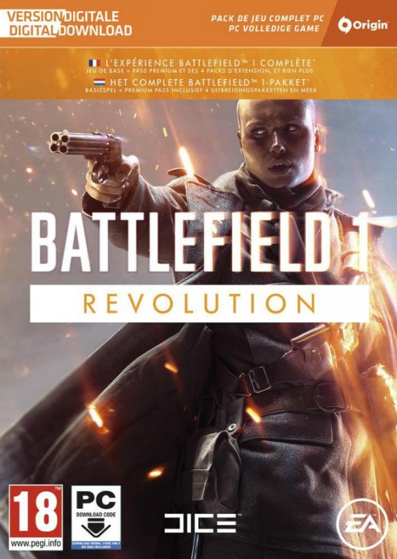 Electronic Arts выпустит полное издание Battlefield 1 под названием Battlefield 1 Revolution