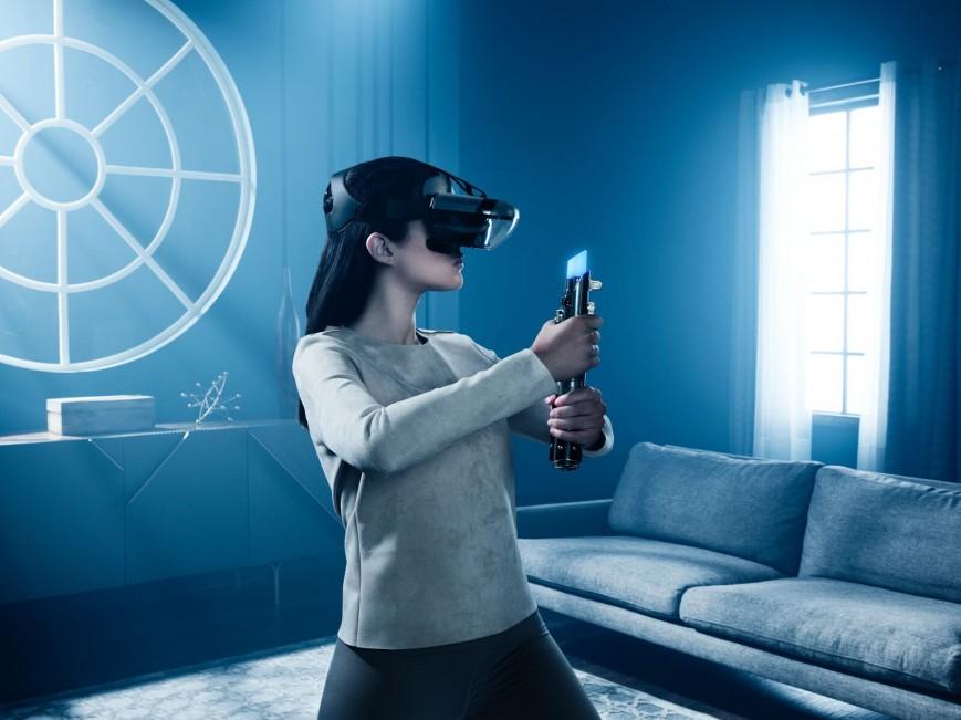 Lenovo представила джедайский комплект дополненной реальности Star Wars: Jedi challenges