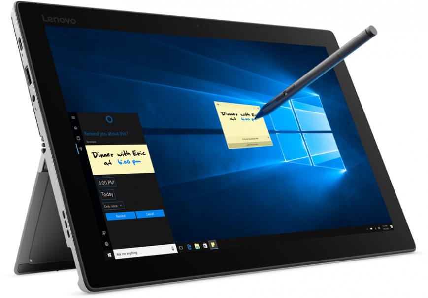 Lenovo представила мощный гибридный планшет Miix 520 на Kaby Lake-R