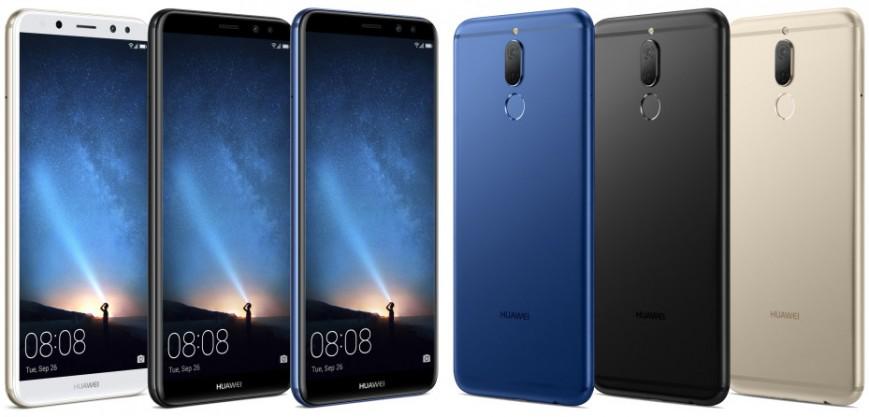Безрамочный Huawei Mate 10 Lite с четырьмя камерами засветился в подробностях