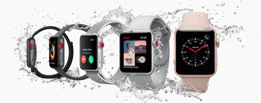 Apple начала продажи Watch Series 3