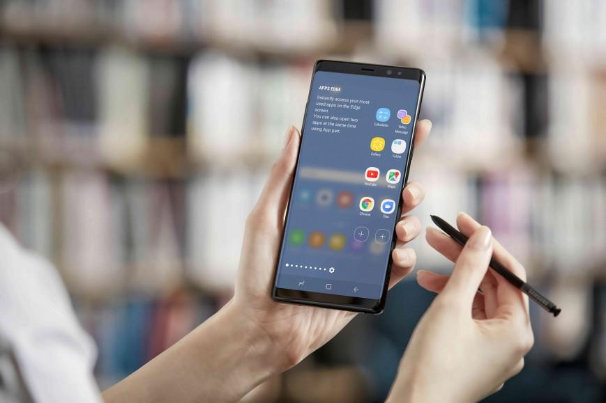 Продажи Samsung Galaxy Note 8 стартовали в России