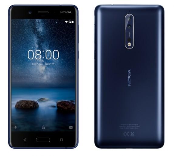 HMD выпустит помощневший Nokia 8 в октябре