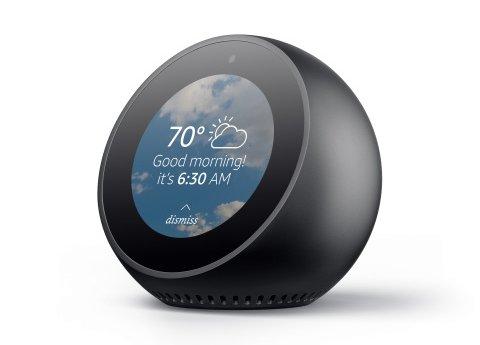 Amazon представила смарт-будильник Echo Spot со возможностью видеозвонков