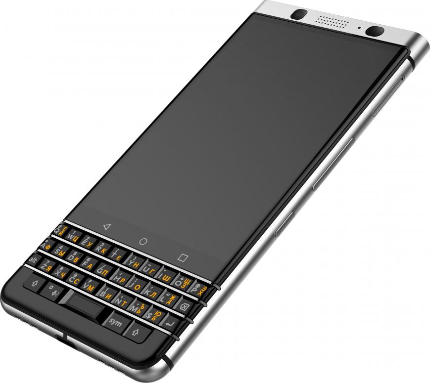 BlackBerry KEYone с QWERTY-клавиатурой выходит в России