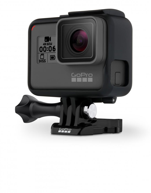 GoPro представила экшн-камеру Hero6 Black
