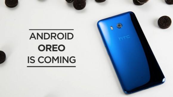 HTC U11 получит Android 8.0 Oreo в ноябре