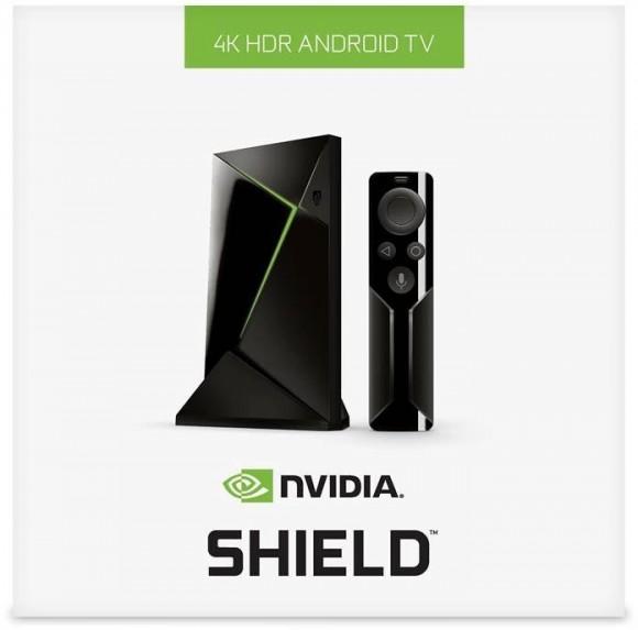 NVIDIA Shield TV в комплекте с пультом ДУ появилась в России