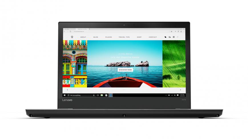 Объявлена российская цена ноутбука Lenovo ThinkPad A475 на базе AMD Pro