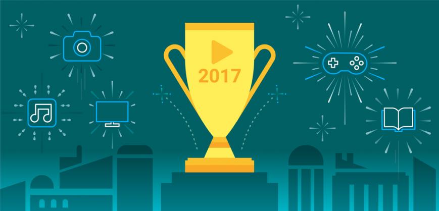 Назван лучший контент Google Play в 2017 году
