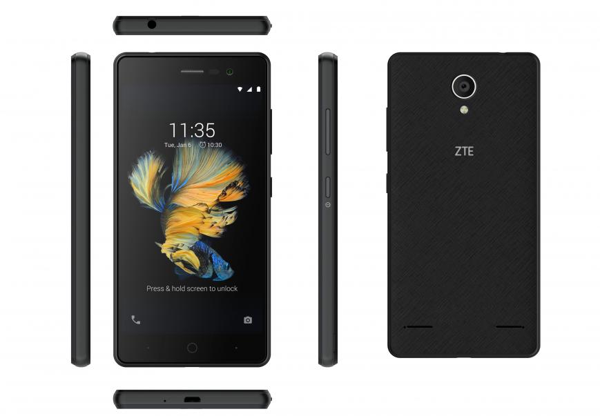 Смартфон ZTE Blade A520C вышел в России