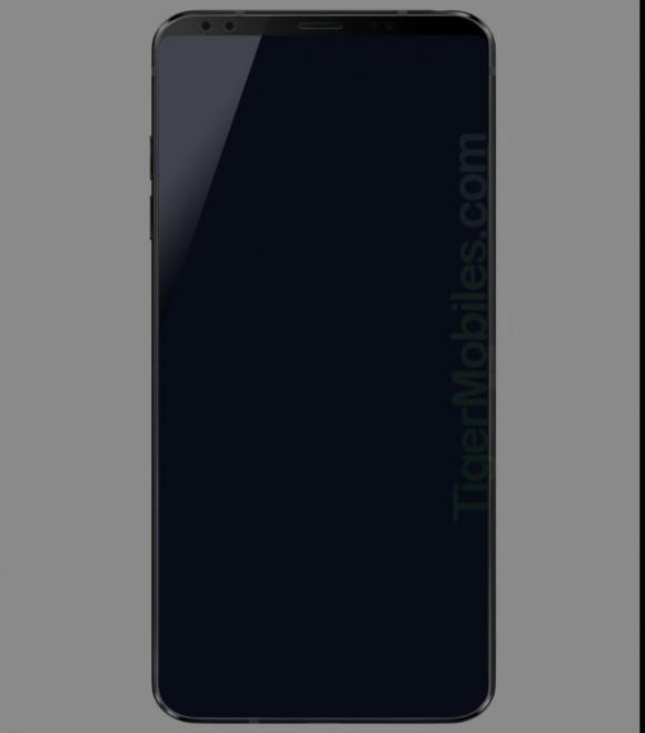 Первый рендер флагманского смартфона LG G7 засветился в сети