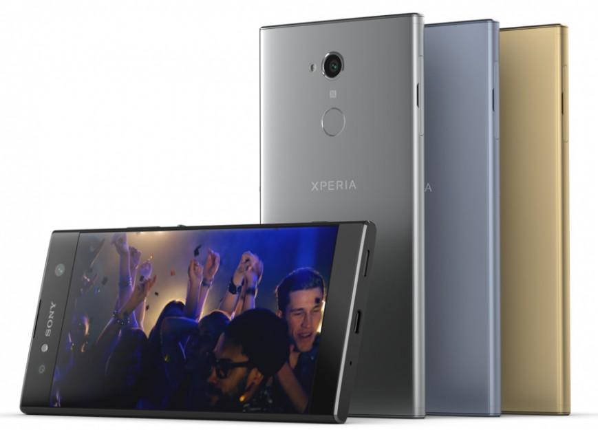 Объявлены цены на смартфоны Sony Xperia XA2, Xperia XA2 Ultra и Xperia L2