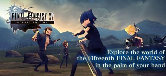 Мобильная Final Fantasy XV выйдет в феврале