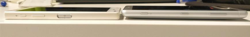 Xperia Z5 Compact и прототип Xperia XZ2 Compact