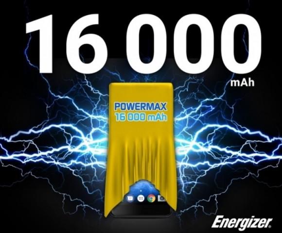 Тизер Energizer PowerMax P16K Pro