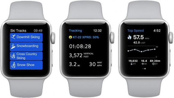 Смарт-часы Apple Watch Series 3 подружились с лыжами и сноубордом