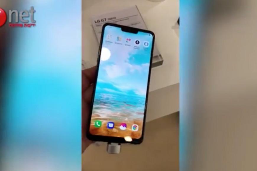 Флагманский смартфон LG G7 показали избранным