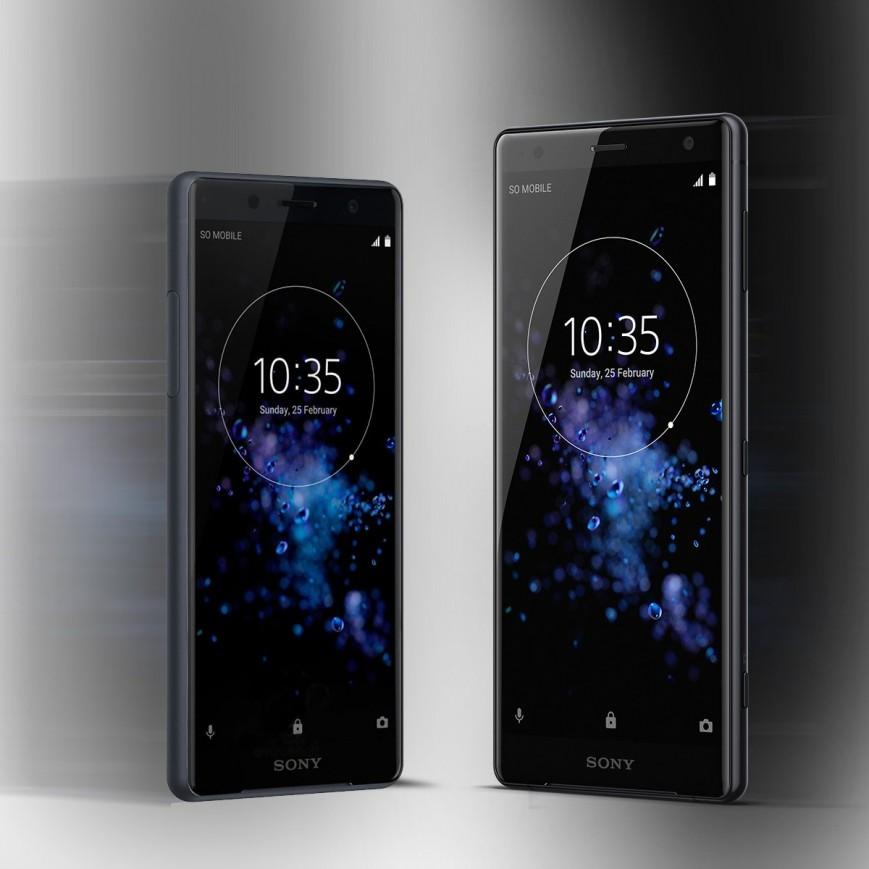 Объявлены российские цены на безрамочные Sony Xperia XZ2 и Xperia XZ2 Compact