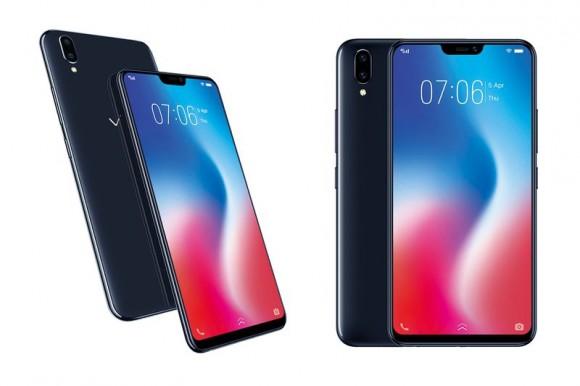 Безрамочный смартфон Vivo V9 в стиле iPhone X представлен официально