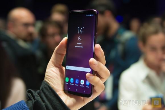 Пользователи Samsung Galaxy S9 и Galaxy S9+ жалуются на проблемы с тачскрином
