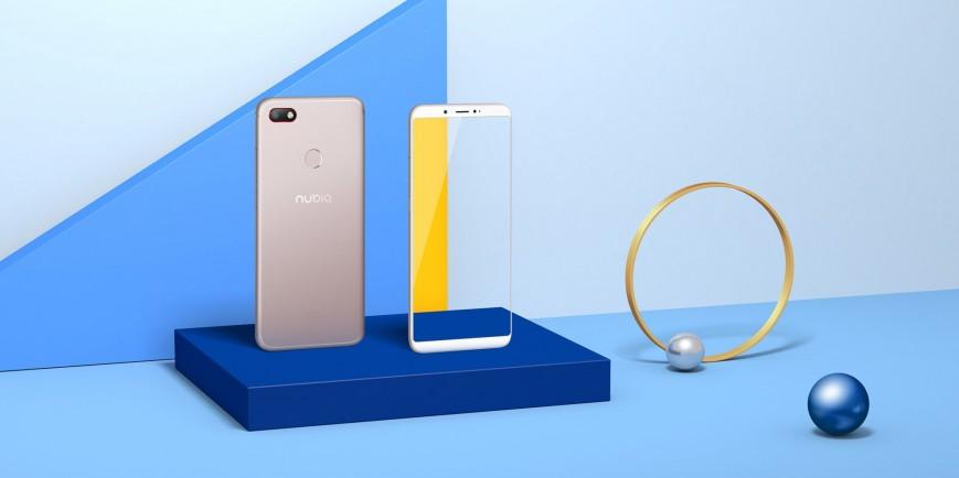 Долгоиграющий безрамочный смартфон ZTE Nubia V18 представлен официально