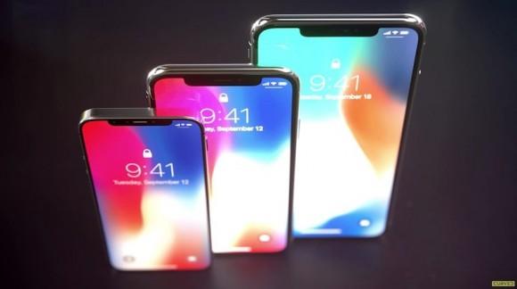 Макеты iPhone X2, iPhone X2 Plus и iPhone SE 2